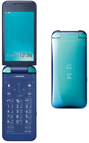 mobile+iroiro blog   ドコモのP-01BとSH-02Bが発売!